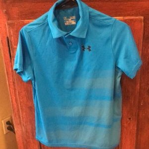 Other - Under Armor Boys Polo Shirt  size L